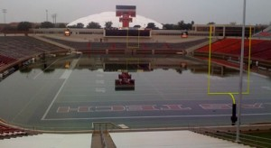 Jones-ATT reflection pool after downpour